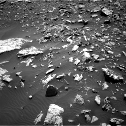 NASA's Mars rover Curiosity acquired this image using its Right Navigation Cameras (Navcams) on Sol 2034