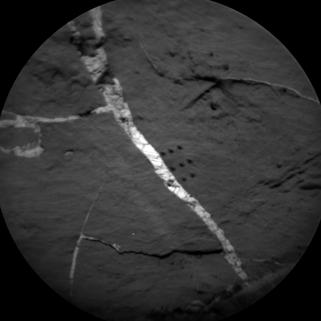 Nasa's Mars rover Curiosity acquired this image using its Chemistry & Camera (ChemCam) on Sol 2035, at drive 0, site number 70