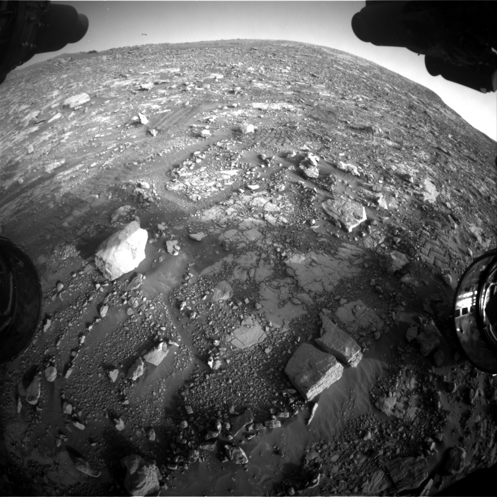 Nasa's Mars rover Curiosity acquired this image using its Front Hazard Avoidance Camera (Front Hazcam) on Sol 2036, at drive 240, site number 70