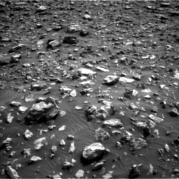 Nasa's Mars rover Curiosity acquired this image using its Left Navigation Camera on Sol 2036, at drive 18, site number 70
