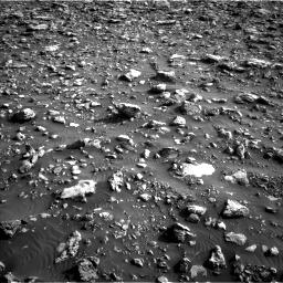 Nasa's Mars rover Curiosity acquired this image using its Left Navigation Camera on Sol 2036, at drive 72, site number 70