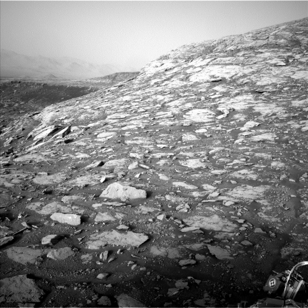 Nasa's Mars rover Curiosity acquired this image using its Left Navigation Camera on Sol 2036, at drive 240, site number 70