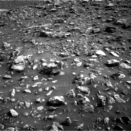 Nasa's Mars rover Curiosity acquired this image using its Right Navigation Camera on Sol 2036, at drive 36, site number 70