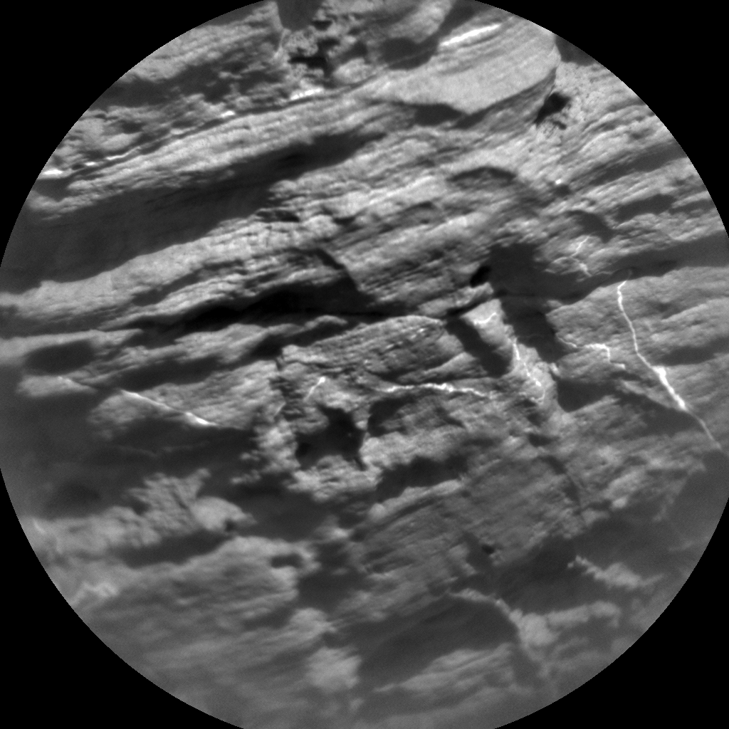 Nasa's Mars rover Curiosity acquired this image using its Chemistry & Camera (ChemCam) on Sol 2036, at drive 0, site number 70