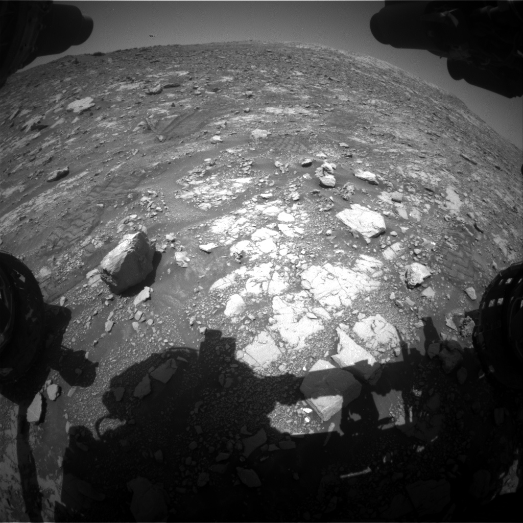 Nasa's Mars rover Curiosity acquired this image using its Front Hazard Avoidance Camera (Front Hazcam) on Sol 2037, at drive 240, site number 70