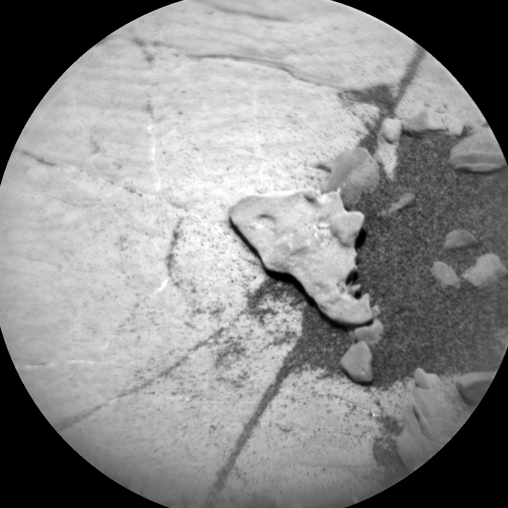 Nasa's Mars rover Curiosity acquired this image using its Chemistry & Camera (ChemCam) on Sol 2037, at drive 240, site number 70