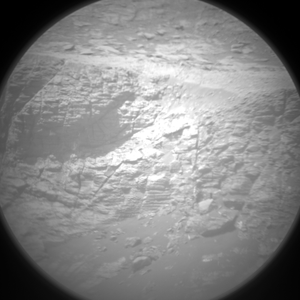 Nasa's Mars rover Curiosity acquired this image using its Chemistry & Camera (ChemCam) on Sol 2038, at drive 240, site number 70