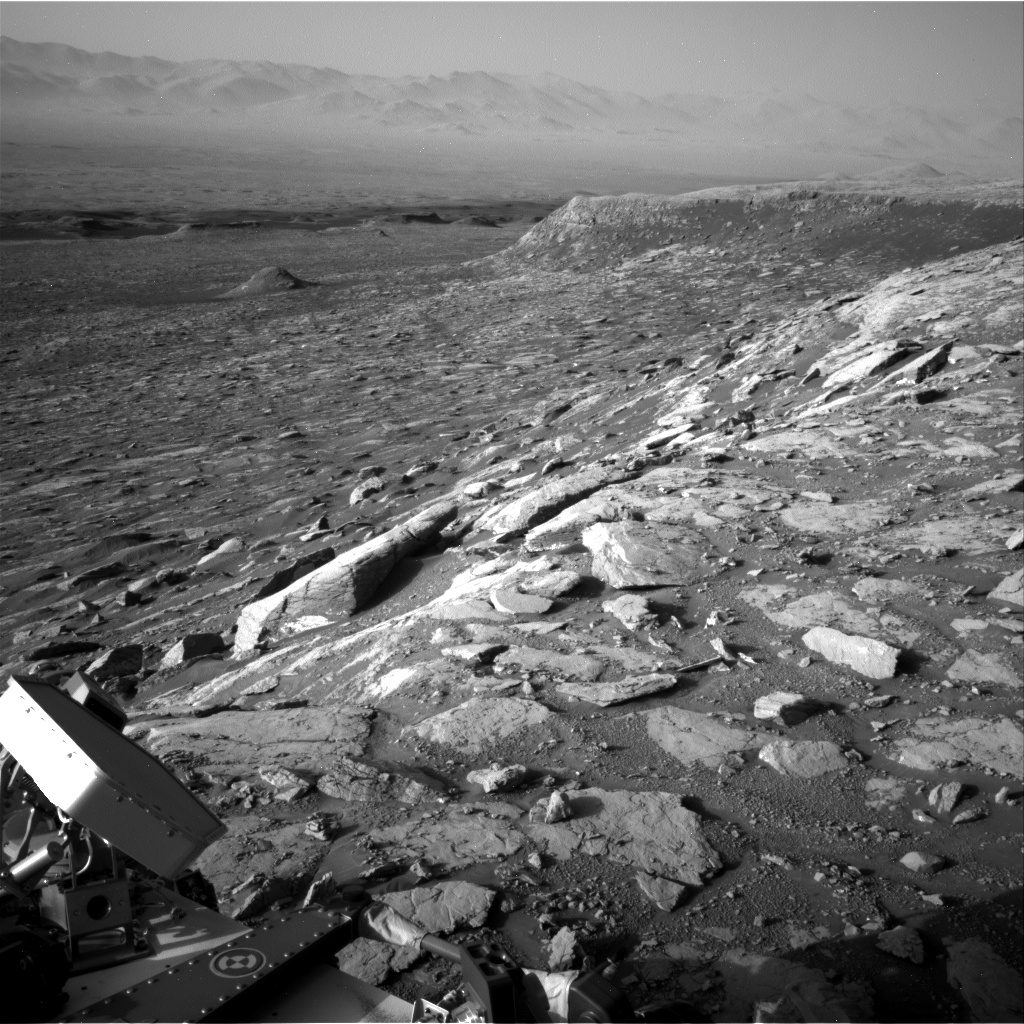 Nasa's Mars rover Curiosity acquired this image using its Right Navigation Camera on Sol 2038, at drive 240, site number 70