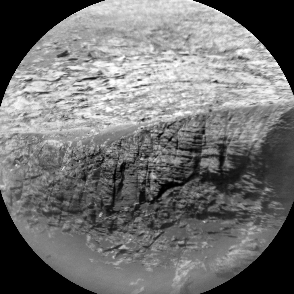 NASA's Mars rover Curiosity acquired this image using its Chemistry & Camera (ChemCam) on Sol 2038