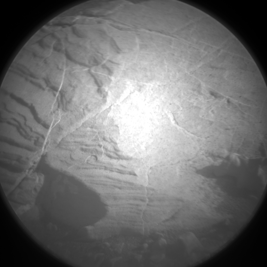 Nasa's Mars rover Curiosity acquired this image using its Chemistry & Camera (ChemCam) on Sol 2039, at drive 552, site number 70