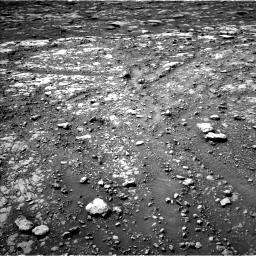 Nasa's Mars rover Curiosity acquired this image using its Left Navigation Camera on Sol 2039, at drive 498, site number 70