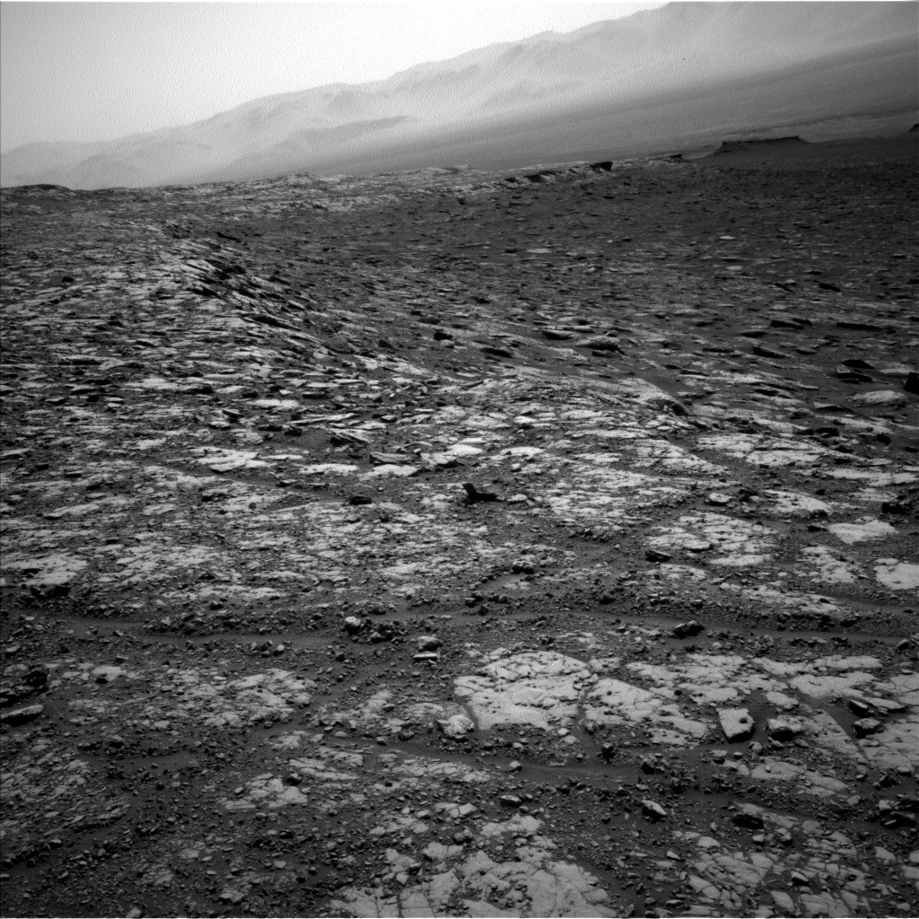 NASA's Mars rover Curiosity acquired this image using its Left Navigation Camera (Navcams) on Sol 2039