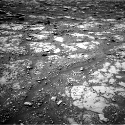 Nasa's Mars rover Curiosity acquired this image using its Left Navigation Camera on Sol 2040, at drive 582, site number 70