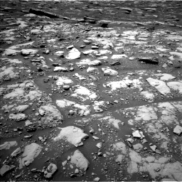 Nasa's Mars rover Curiosity acquired this image using its Left Navigation Camera on Sol 2040, at drive 630, site number 70