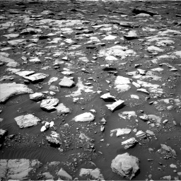 Nasa's Mars rover Curiosity acquired this image using its Left Navigation Camera on Sol 2040, at drive 738, site number 70
