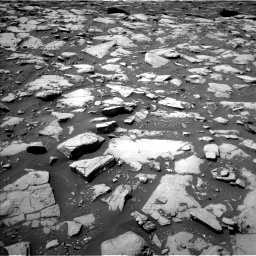 Nasa's Mars rover Curiosity acquired this image using its Left Navigation Camera on Sol 2040, at drive 810, site number 70