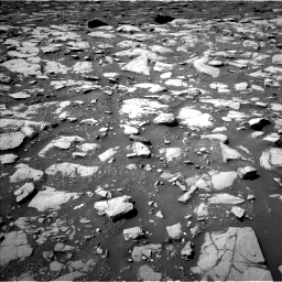 Nasa's Mars rover Curiosity acquired this image using its Left Navigation Camera on Sol 2040, at drive 852, site number 70
