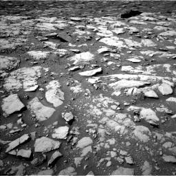NASA's Mars rover Curiosity acquired this image using its Left Navigation Camera (Navcams) on Sol 2040
