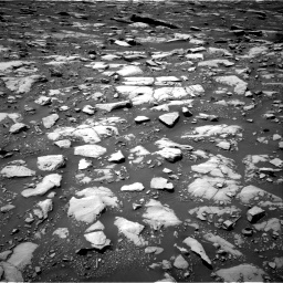 Nasa's Mars rover Curiosity acquired this image using its Right Navigation Camera on Sol 2040, at drive 672, site number 70
