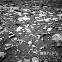 Nasa's Mars rover Curiosity acquired this image using its Right Navigation Camera on Sol 2040, at drive 732, site number 70