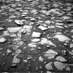 Nasa's Mars rover Curiosity acquired this image using its Right Navigation Camera on Sol 2040, at drive 774, site number 70