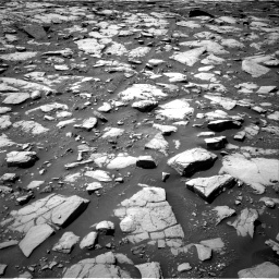 Nasa's Mars rover Curiosity acquired this image using its Right Navigation Camera on Sol 2040, at drive 822, site number 70