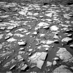 Nasa's Mars rover Curiosity acquired this image using its Right Navigation Camera on Sol 2040, at drive 840, site number 70