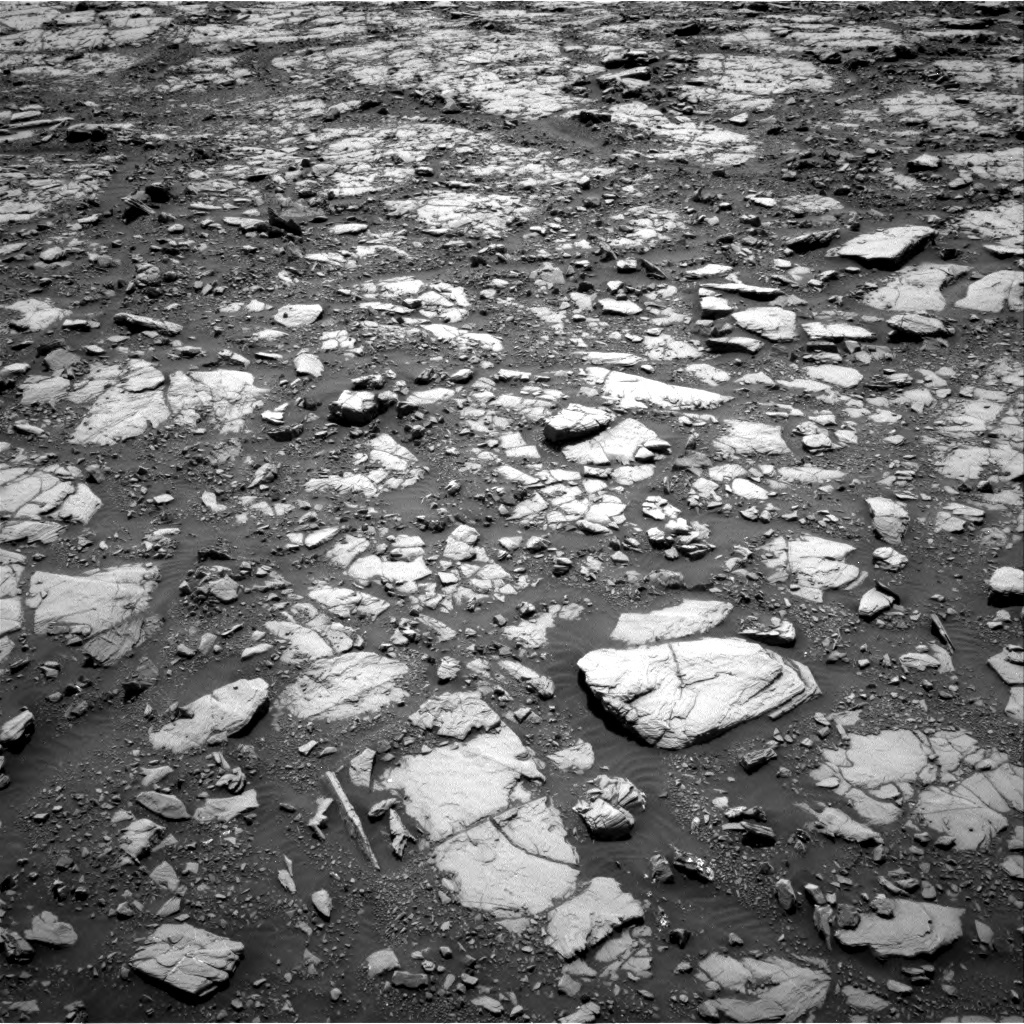 Nasa's Mars rover Curiosity acquired this image using its Right Navigation Camera on Sol 2040, at drive 846, site number 70