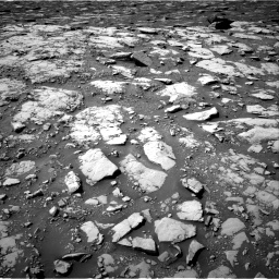 Nasa's Mars rover Curiosity acquired this image using its Right Navigation Camera on Sol 2040, at drive 876, site number 70