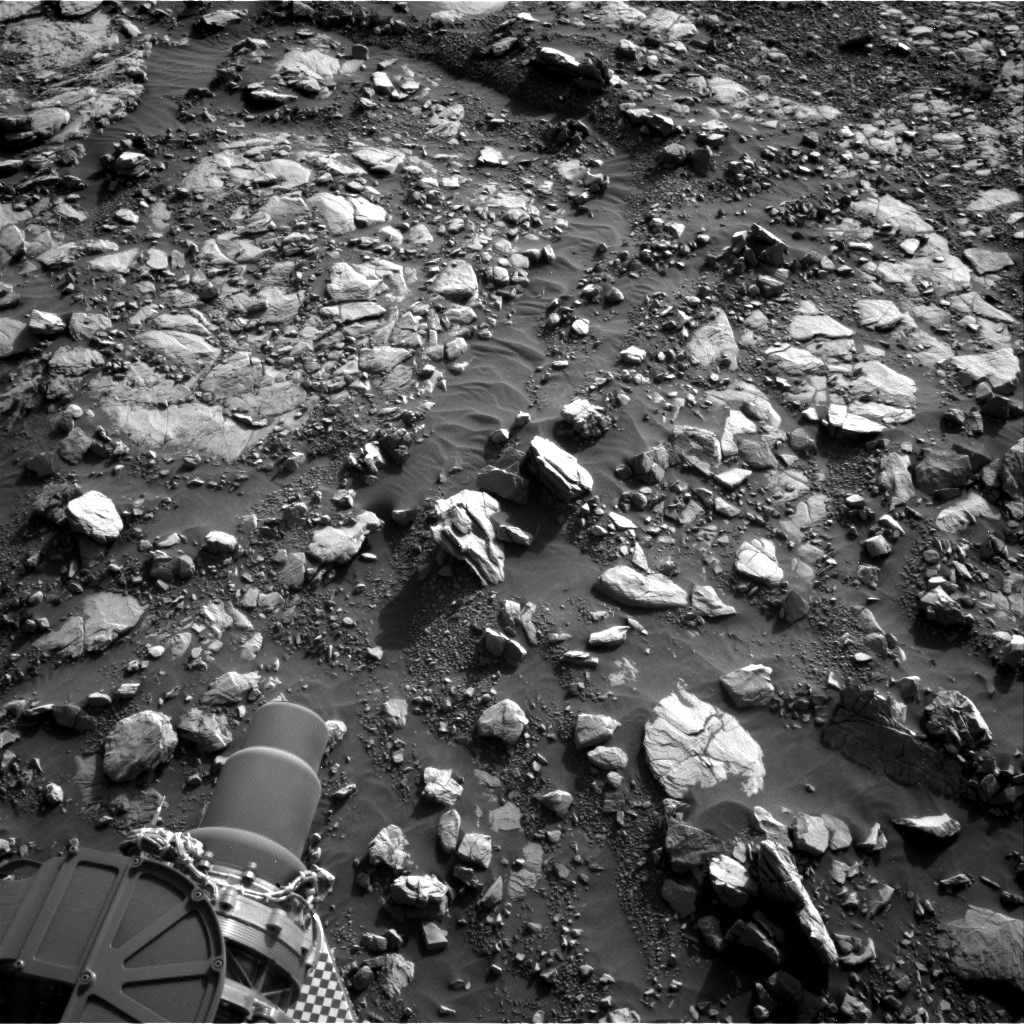Nasa's Mars rover Curiosity acquired this image using its Right Navigation Camera on Sol 2040, at drive 886, site number 70