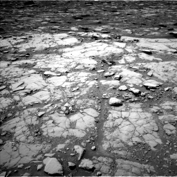 Nasa's Mars rover Curiosity acquired this image using its Left Navigation Camera on Sol 2041, at drive 970, site number 70