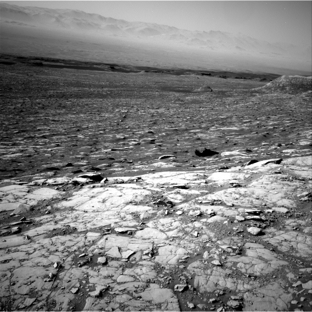 Nasa's Mars rover Curiosity acquired this image using its Right Navigation Camera on Sol 2041, at drive 1000, site number 70