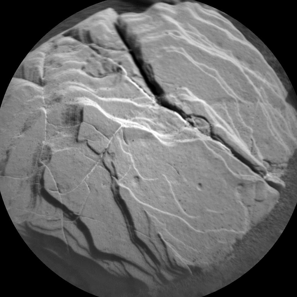 Nasa's Mars rover Curiosity acquired this image using its Chemistry & Camera (ChemCam) on Sol 2041, at drive 1000, site number 70
