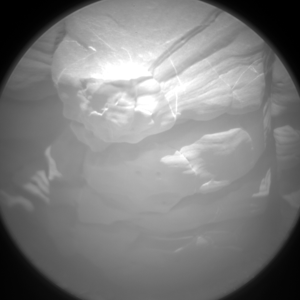 Nasa's Mars rover Curiosity acquired this image using its Chemistry & Camera (ChemCam) on Sol 2042, at drive 1000, site number 70