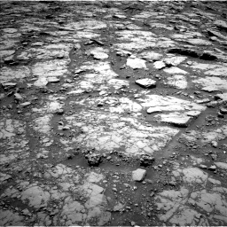 Nasa's Mars rover Curiosity acquired this image using its Left Navigation Camera on Sol 2044, at drive 1024, site number 70
