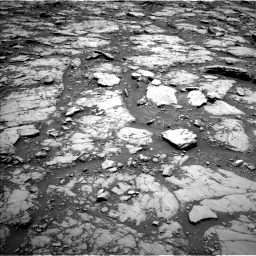 Nasa's Mars rover Curiosity acquired this image using its Left Navigation Camera on Sol 2044, at drive 1036, site number 70