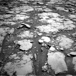 Nasa's Mars rover Curiosity acquired this image using its Left Navigation Camera on Sol 2044, at drive 1054, site number 70
