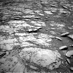 Nasa's Mars rover Curiosity acquired this image using its Left Navigation Camera on Sol 2044, at drive 1132, site number 70
