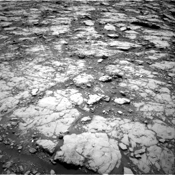 Nasa's Mars rover Curiosity acquired this image using its Right Navigation Camera on Sol 2044, at drive 1006, site number 70