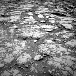 Nasa's Mars rover Curiosity acquired this image using its Right Navigation Camera on Sol 2044, at drive 1018, site number 70