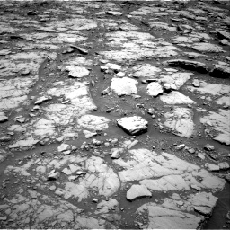 Nasa's Mars rover Curiosity acquired this image using its Right Navigation Camera on Sol 2044, at drive 1036, site number 70
