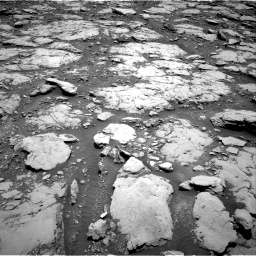 Nasa's Mars rover Curiosity acquired this image using its Right Navigation Camera on Sol 2044, at drive 1054, site number 70