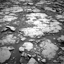 Nasa's Mars rover Curiosity acquired this image using its Right Navigation Camera on Sol 2044, at drive 1060, site number 70
