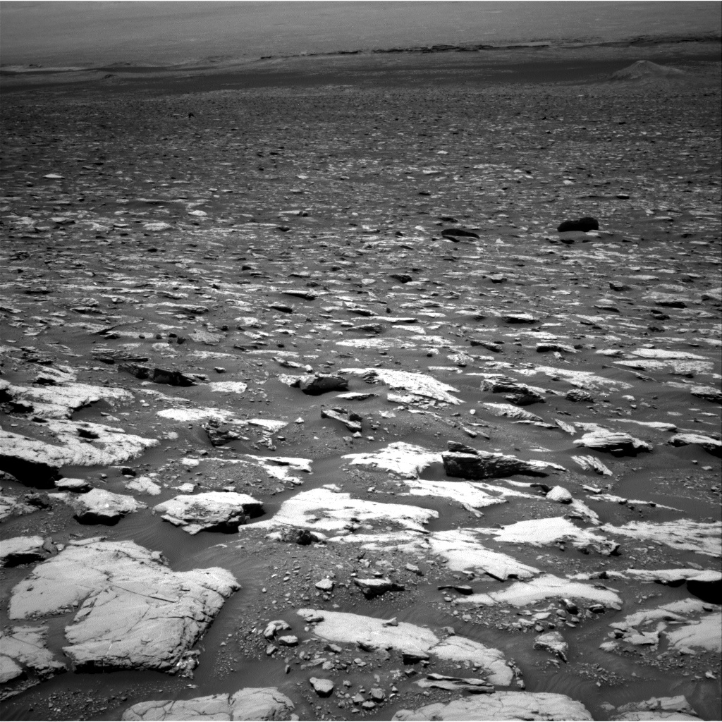 Nasa's Mars rover Curiosity acquired this image using its Right Navigation Camera on Sol 2044, at drive 1078, site number 70