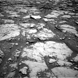 Nasa's Mars rover Curiosity acquired this image using its Right Navigation Camera on Sol 2044, at drive 1084, site number 70