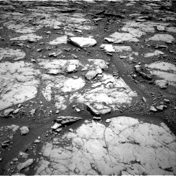 Nasa's Mars rover Curiosity acquired this image using its Right Navigation Camera on Sol 2044, at drive 1090, site number 70