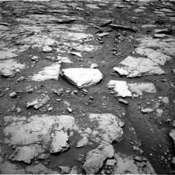 Nasa's Mars rover Curiosity acquired this image using its Right Navigation Camera on Sol 2044, at drive 1102, site number 70