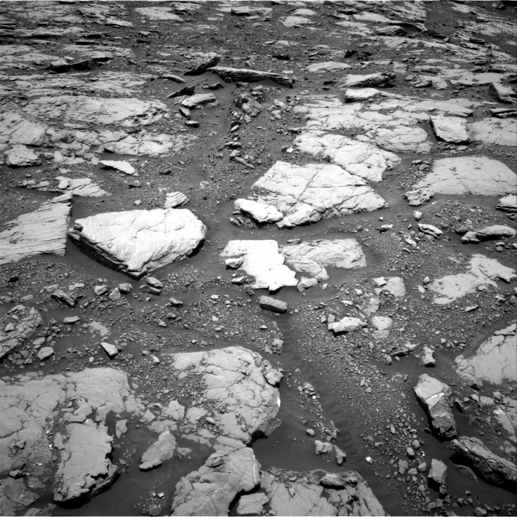 NASA's Mars rover Curiosity acquired this image using its Right Navigation Cameras (Navcams) on Sol 2044