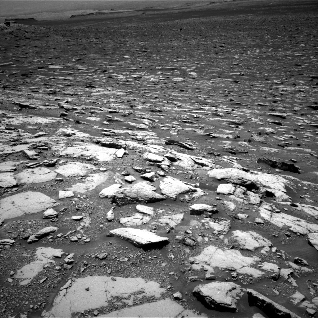 Nasa's Mars rover Curiosity acquired this image using its Right Navigation Camera on Sol 2044, at drive 1108, site number 70