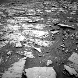 Nasa's Mars rover Curiosity acquired this image using its Right Navigation Camera on Sol 2044, at drive 1120, site number 70